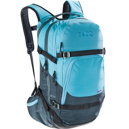 Рюкзак зимний Evoc Line 28L Heather Stale Heather Neon Blue 17/18