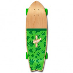 Eastcoast Surf Hawaii Green 27 x 8.25