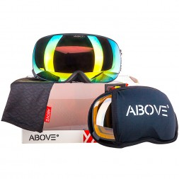 Above Magneto Black Orange/Gold + Yellow