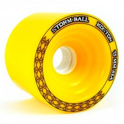 Koston Long Wheel Storm Ball Yellow 83A 75мм