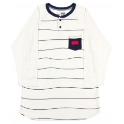 INI Tee Ball s15, white stripe