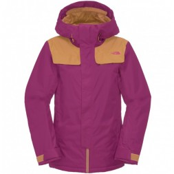 North Face Degadon wms Jacket 13/14, purple/brown