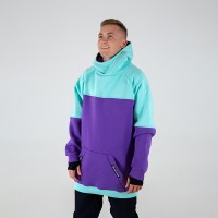 Intro Hoodie mint/purple