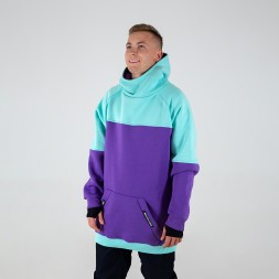 Intro Hoodie mint/purple