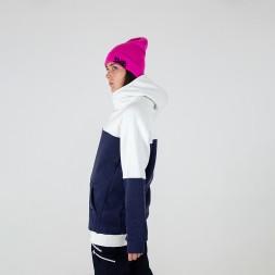 Intro ws Hoodie white/navy