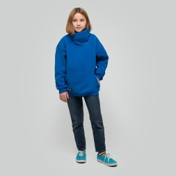 Light Hoodie teens Blue