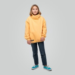 Light Hoodie teens Peach