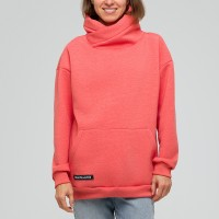Light Hoodie w's Coral
