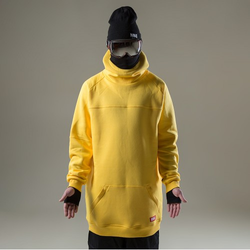 Толстовка удлиненная NM4 Homies Ninja 2 Yellow