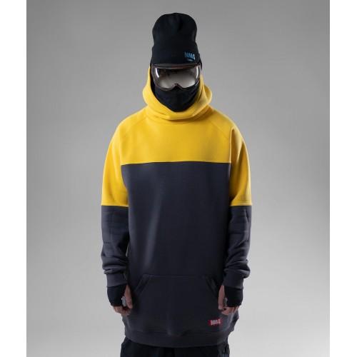 Толстовка удлиненная NM4 Homies Ninja 2 Graphite/Yellow