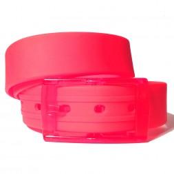 Ремень силиконовый розовый