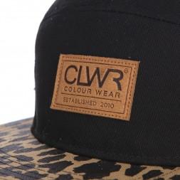 CLWR Five Panel Cap Black