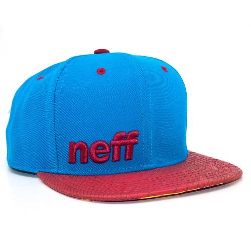 Бейсболка Neff Daily Blue/Red/Wild