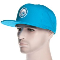 Osiris Snapback Hat Standard Turquoise/White