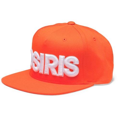 Бейсболка Osiris Snapback Hat NYC Orange