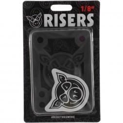 Проставки Pig Piles 1/8 Hard Risers Black