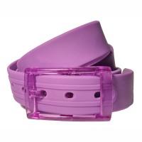 Ремень силиконовый фиолет