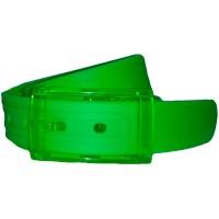 Ремень силиконовый зеленый