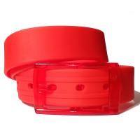 Ремень силиконовый красный