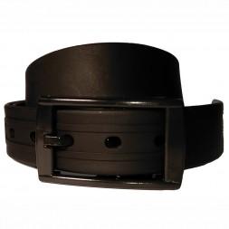 Ремень силиконовый черный