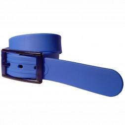 Ремень силиконовый синий