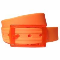 Ремень силиконовый оранжевый