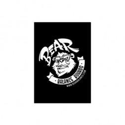 Коврик Bear Balance Black Logo