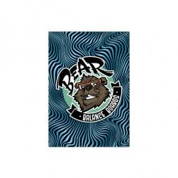 Коврик Bear Balance Black/Blue Stripes