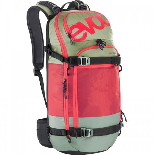 Рюкзак зимний Evoc FR PRO Team 20L Olive-Ruby M/L 17/18