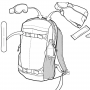 Рюкзак для сноуборда женский Burton Womens Timberlite 15L Jaded Heather 17/18