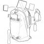 Рюкзак для сноуборда Burton Day Hiker 28L True Black Ripstop 17/18