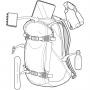 Рюкзак для сноуборда Burton Day Hiker 25L Golden Oak Heather 17/18