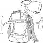 Рюкзак для сноуборда женский Burton Womens Day Hiker 25L Starking Mojave Print 17/18