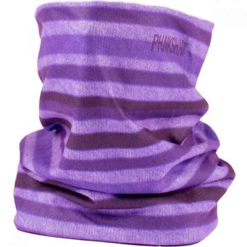 Шарф флисовый Phunkshun Fleece Tube Stripes Purple 16/17