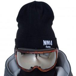NM4 Logo Beanie black/white