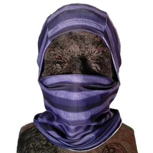 Балаклава Phunkshun Convertible Ballerclava Stripes Purple 16/17