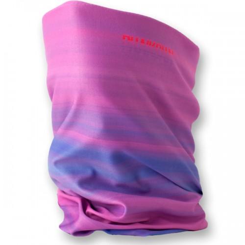 Шарф Phunkshun Single Layer Slim Neck Tube Pink Feather 14/15