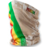 Phunkshun SLTall Neck Tube Rasta Stripes 14/15