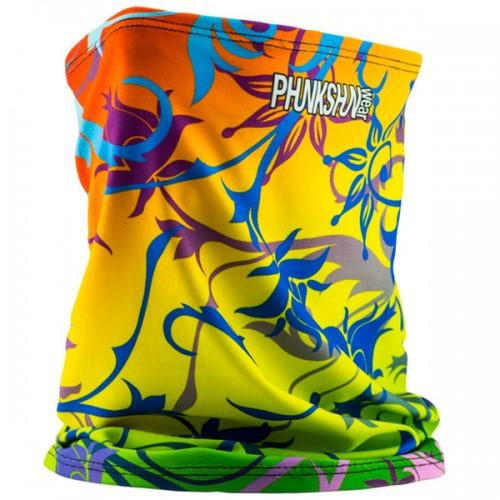 Шарф-труба однослойный Phunkshun Single Layer Tube Floral Multi 15/16