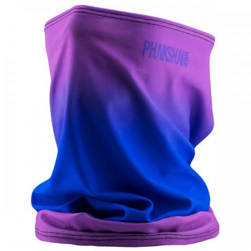 Шарф-труба однослойный Phunkshun Single Layer Tube Fade Purple/Blue 15/16