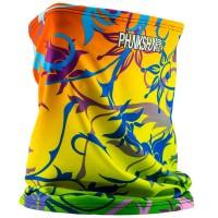 Phunkshun Single Layer Tube Floral Multi 15/16