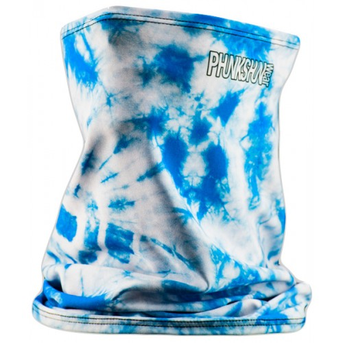 Шарф-труба однослойный Phunkshun SL TALL Tube Tie Dye Blue 15/16