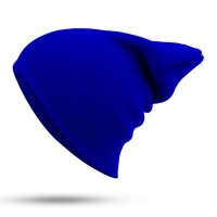Blank Beanie Navy Blue