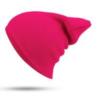 Blank Beanie Dark Pink