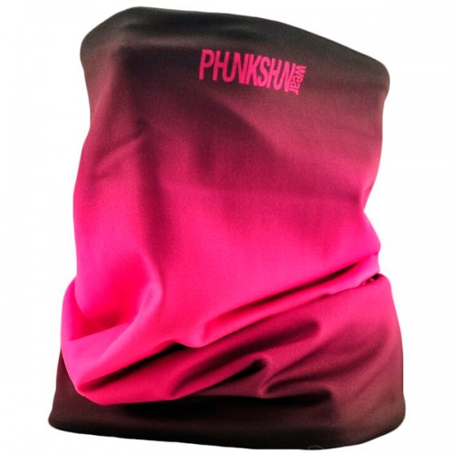 Теплый шарф Phunkshun Thermal Tube Fade Black/Pink 16/17