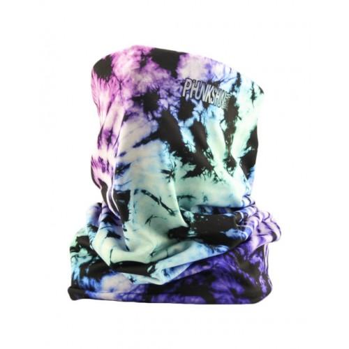 Теплый шарф Phunkshun Thermal Tube Tie Dye Pink/Purple 16/17