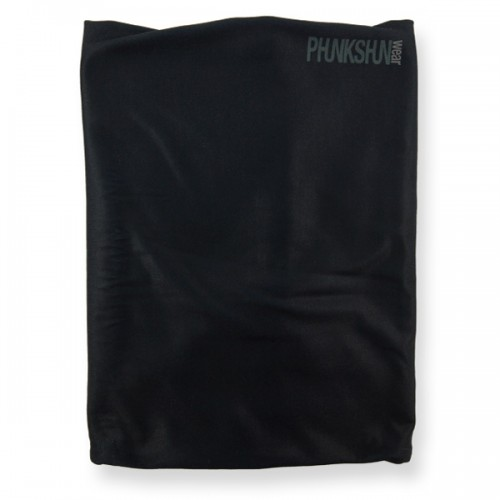 Шарф детский Phunkshun Kids Double Layer Thermal Neck Tube Solid Black 14/15