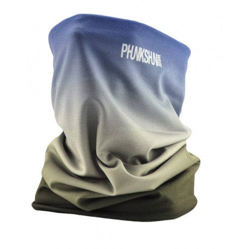 Теплый шарф Phunkshun Thermal Tube Fade Navy/Grey 16/17