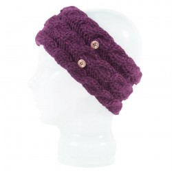 Spacecraft Juniper Headband Grape 15/16