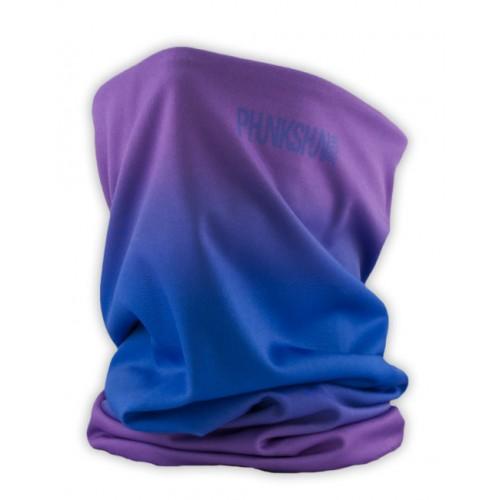 Теплый шарф Phunkshun Thermal Tube Fade Purple/Blue 16/17